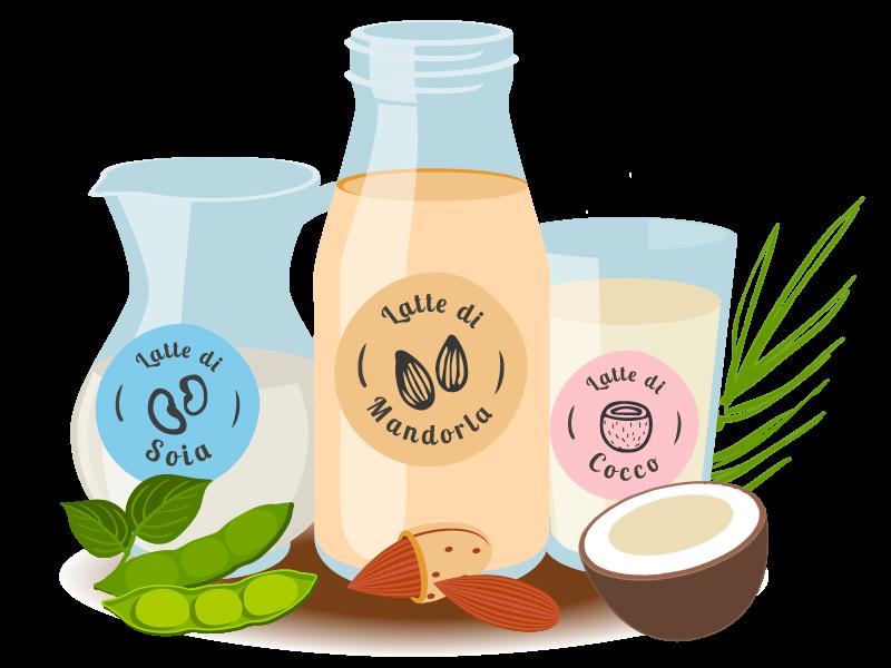 Alternative di latte in caso di intolleranza al lattosio