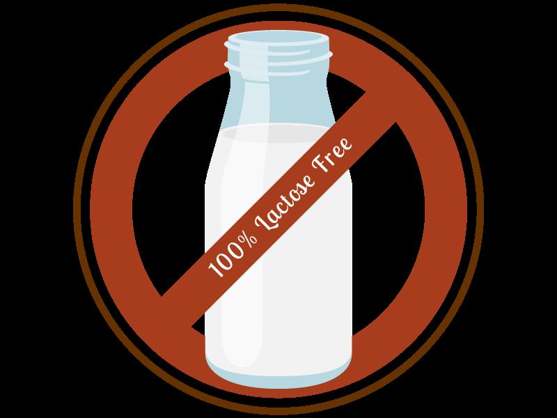 simbolo dell'intolerranza al lattosio